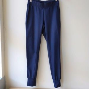 Nike Dri Fit Jogger Pants Dark Blue Mid Rise Small